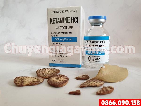 Hướng dẫn cách sử dụngthuốc mê dạng nước Keta HCL