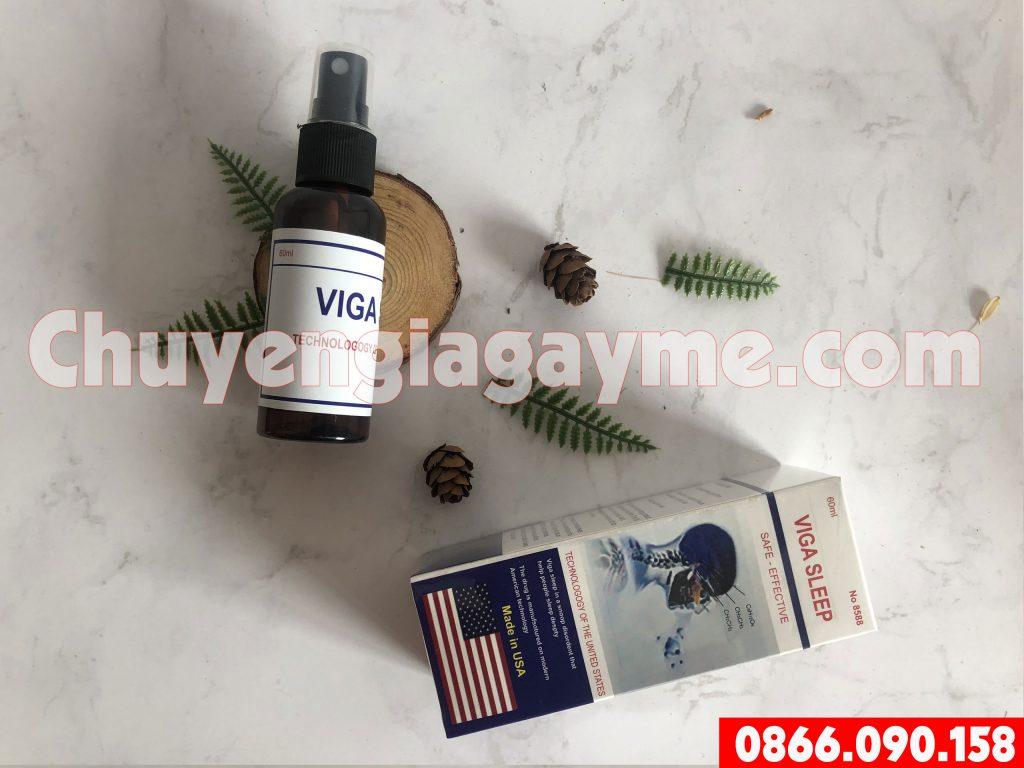 Hướng dẫn sử dụngthuốc mê Viga Sleep
