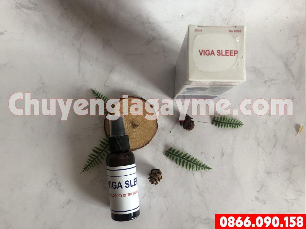 Khi dùngthuốc mê Viga Sleep, người dùng có biểu hiện gì?