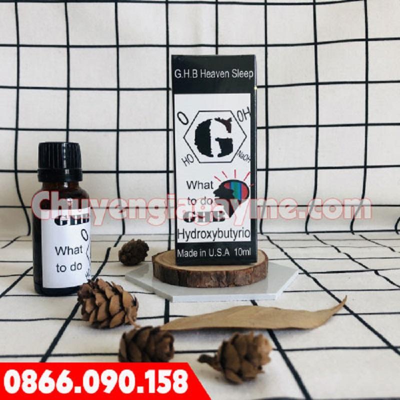 GHB là sản phẩm được sản xuất tại Mỹ với công nghệ hiện đại