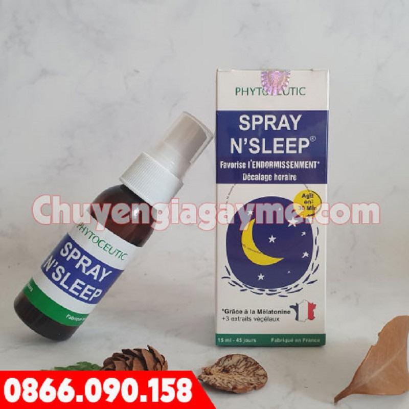Thành phần gây mê trong Spray Sleeping rất cao.